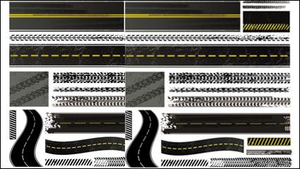 Link toTire brake printed material 03 - vector