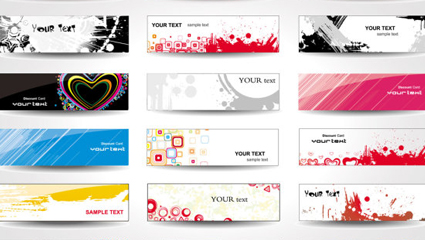 Link toQuality card material 03 - vector