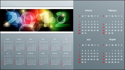 Link to2012 calendar 03 - vector
