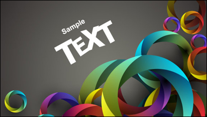 Link toColorful background material 03 - vector