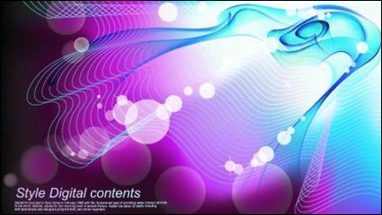 Link toColorful mirage streamline background vector -1