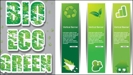 Link toLow-carbon green theme design vector -1