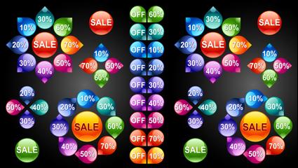 Link toIcon button material 01 - vector