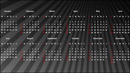 Link to2012 calendar 02 - vector