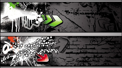 Link toTrend of graffiti - vector