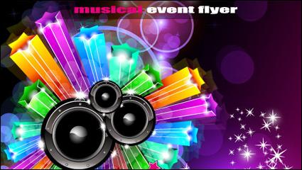 Link toBrilliant dynamic music elements 05 - vector