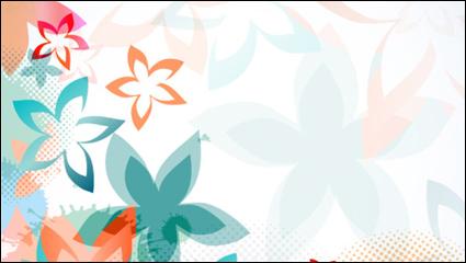Link toColorful flower background pattern 01 - vector