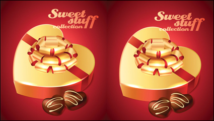 Link toThe desserts material 01 - vector