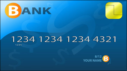 Link toFine bank card material 04 - vector