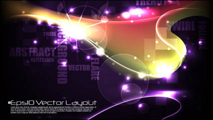 Link toColorful background material 02 - vector