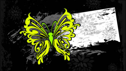 Link toColor abstract butterfly pattern 03 - vector
