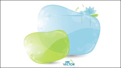Link toFine bubbles 01 - vector