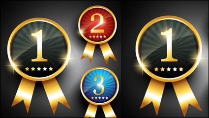 Link toFine medals 01 - vector