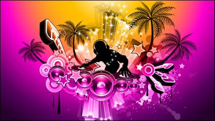 Link toBrilliant dynamic music elements 02 - vector