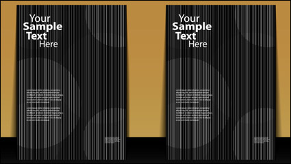 Link toMessy lines background material 01 - vector