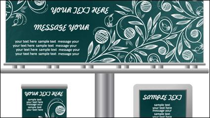 Link toLightbox billboard template design vector material -2