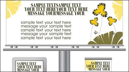 Link toLight box billboards template design vector -1