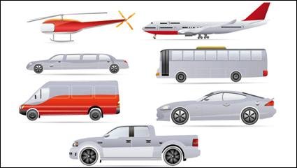 Link toCartoon transport - vector