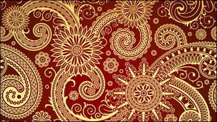 Link toExquisite classical pattern vector material -3