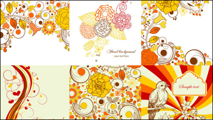 Link toExquisite hand-painted patterns 01 - vector