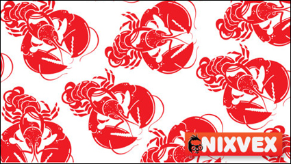 Link toSpicy crawfish - vector material