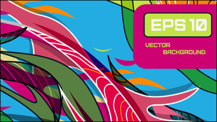 Link toBeautiful color line patterns 01 - vector