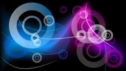 Link toBeautiful colorful pattern background 02 - vector
