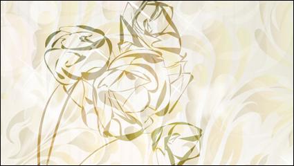 Link toElegant rose pattern background 01 - vector
