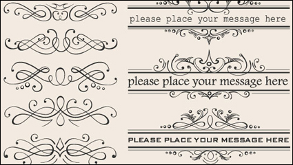 Link toEuropean-style lace border 03 - vector