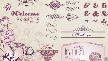 Link toEuropean pattern lace 01 - vector