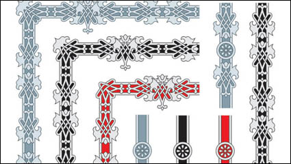 Link toExquisite lace 01 - vector material