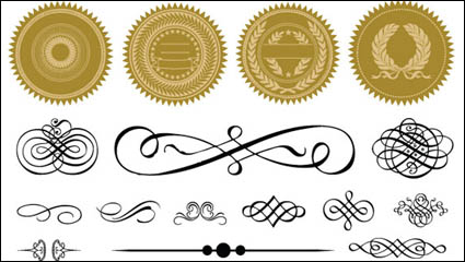 Link toCertificate frame and badge accessories 04 - vector