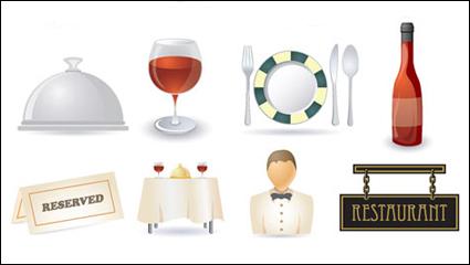 Link toRestaurant kitchen icon 02 - vector