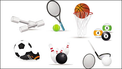 Link toSports-related icons 02 - vector