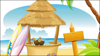 Link toCartoon coast national scenic 01 - vector