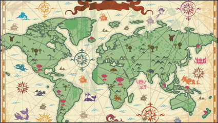 Link toTravel and tourism elements of vector material -3