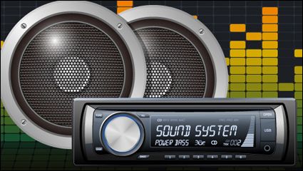 Link toCar audio vector -5