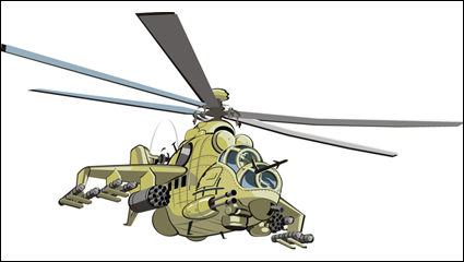 Link toCombat helicopters - doe - vector