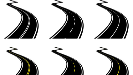 Realistic highway 03 -  vector material