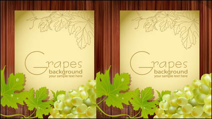 Link toCartoon grapes 04-- vector material