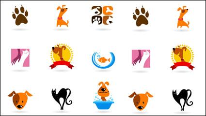 Link toThe cartoon animals image 01 - vector