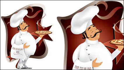 Link toCartoon western waiter 03 - vector