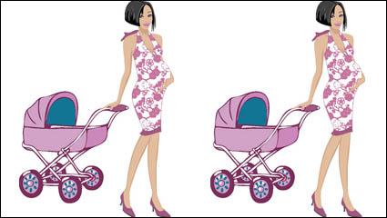 Link toCute cartoon mother 02-- vector material