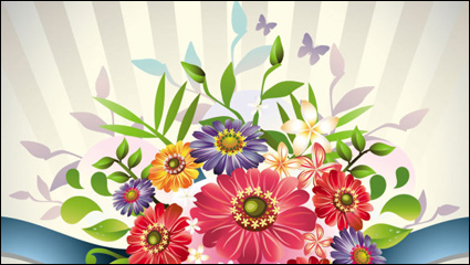 Beautiful bouquet 04– vector material