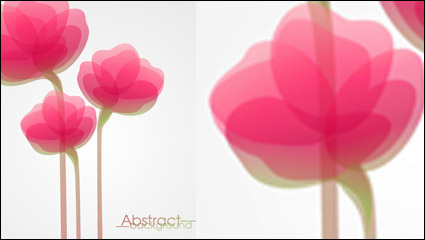 Link toFashion flowers vector material