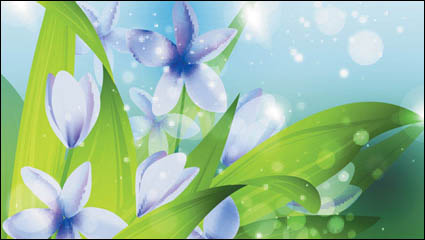 Dream plant vector background material -2