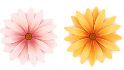 Beautiful small flowers vector material -3