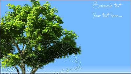 Link toTrees vector material -2