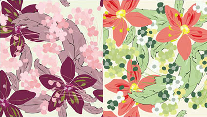 Link toPretty flower background vector material
