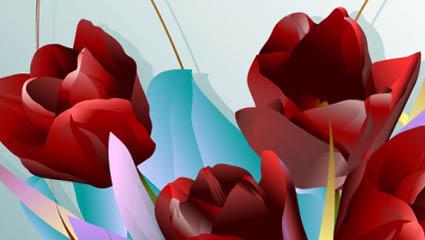 Vector rose 04 – vector